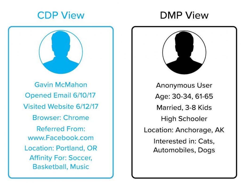 customer data platform versus data management platform