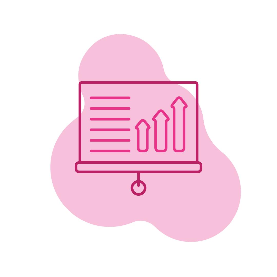 Pink statistics logo